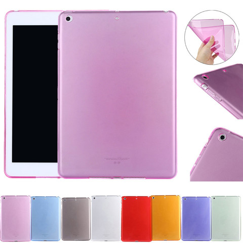 Protective Case For iPad 9.7 inch 2017 Ultra-thin Rubber Scratch Resistant Soft Case Cover For ipad 9.7Inch 2017 Tablet Pakistan