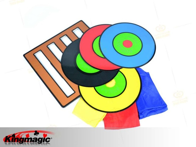 Russia Magic Tricks Color Changing CD(Professional) disk Close up Street Stage Magic Props