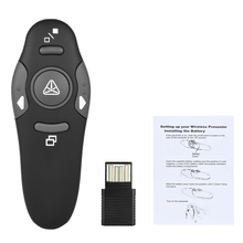 2.4GHz Wireless USB Powerpoint Presentation PPT Flip Pen Pointer Clicker Presenter with Red Light Remote Control for Teacher цена и фото