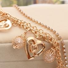 Women's Mulitlayer Charm Bracelet