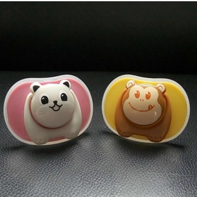 The New Baby Pacifier Bear Pacifier Panda Chupeta Silikon Baby Teat - Baby mating - Bilde 3
