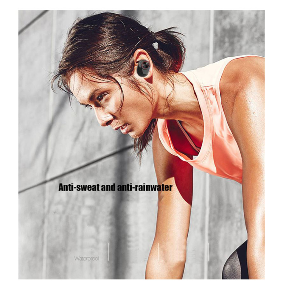 Wireless Earbud TWS Mini True Bluetooth 5 0 Stereo Earphone Bass In Ear Headset in Bluetooth Earphones Headphones from Consumer Electronics