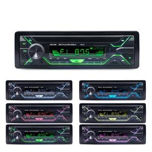 Image 2 - Car Radio Stereo Player Bluetooth Phone AUX IN MP3 FM/USB/1 Din/remote control 12V  Audio Auto Sale New
