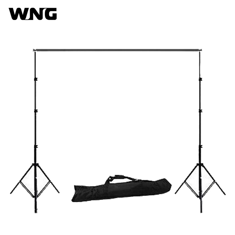 2.6m*3m/8.5ft*9.8ft Photo Background Backdrop Support Stand System Kit Set lightdow 2x3m 6 6ftx9 8ft adjustable backdrop stand crossbar kit set photography background support system for muslins backdrops