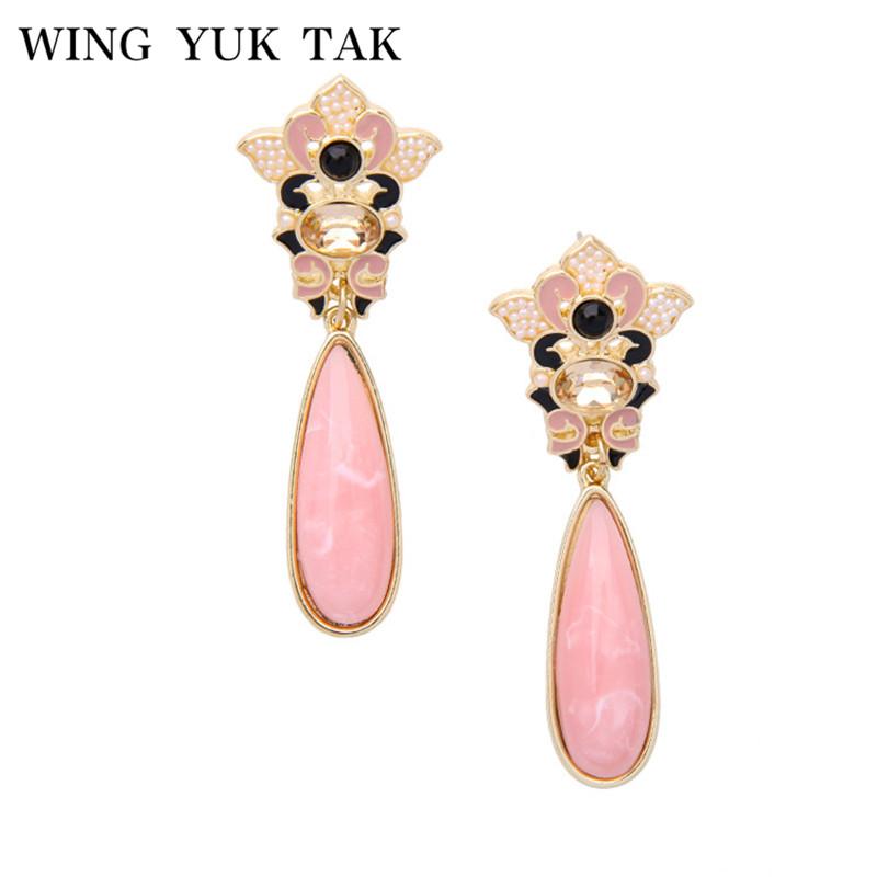 75d88f554a17 ... mujeres Lucite flor original diseño encanto boda joyería hd1708.  earrings. 4438766060 1128138252. 4441201052 1128138252