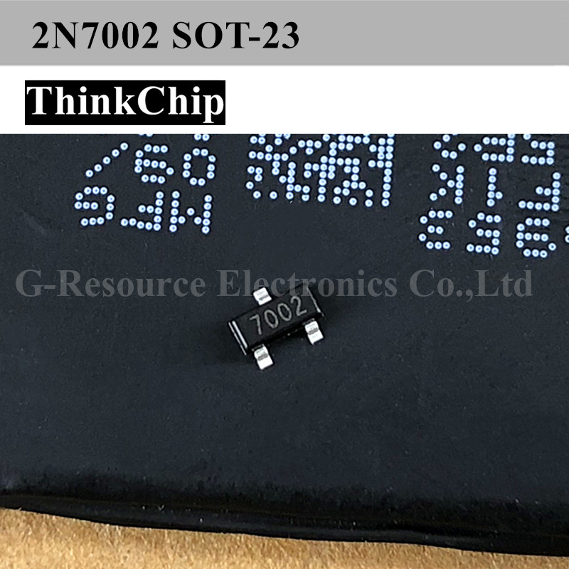 Free Shipping 100pcs/lot 2N7002 7002 SOT-23 SMD Transistor NEW Original