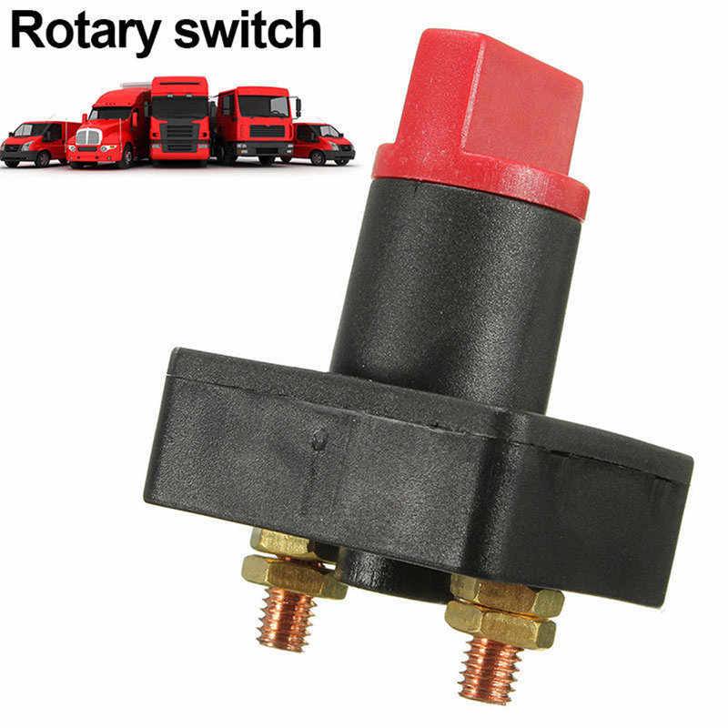 CARPRIE Battery Switch 100A Battery Master Disconnect Rotary Cut Off Isolator Kill Switch Car Van Boat  mar23
