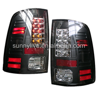 For Dodge Ram 1500 LED Tail Lamp 2011-2014 year SONAR Style Black Colo