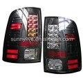 Para Dodge Ram 1500 LED de la lámpara 2011-2014 años estilo SONAR Colo negro
