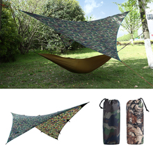 waterproof camping awning tarp trail tent sun shade hammock shelter camo for outdoor camping travel picnic buy camo hammock and get free shipping on aliexpress    rh   aliexpress