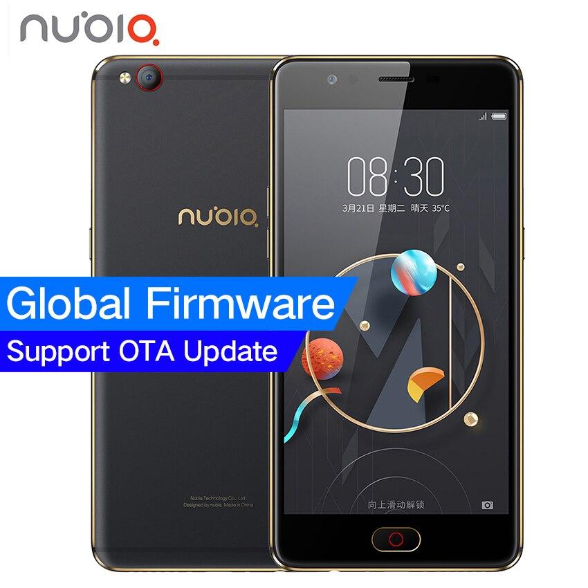 Nubia ZTE originais M2 MT6750 LITE 4G LTE Octa Núcleo Android M 5.5 3G RAM 64 GB ROM 16.0MP 3000 mAh Impressão Digital Bateria do Smartphone