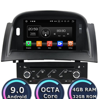 Roadlover 7 Android 9.0 Car DVD Player For Megane II 2004 2009 Stereo GPS Navigation Automagnitol Double Din HD Screen