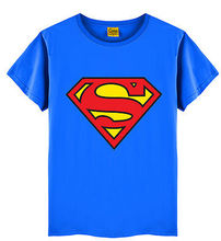 T-shirt superman boys with long sleeves