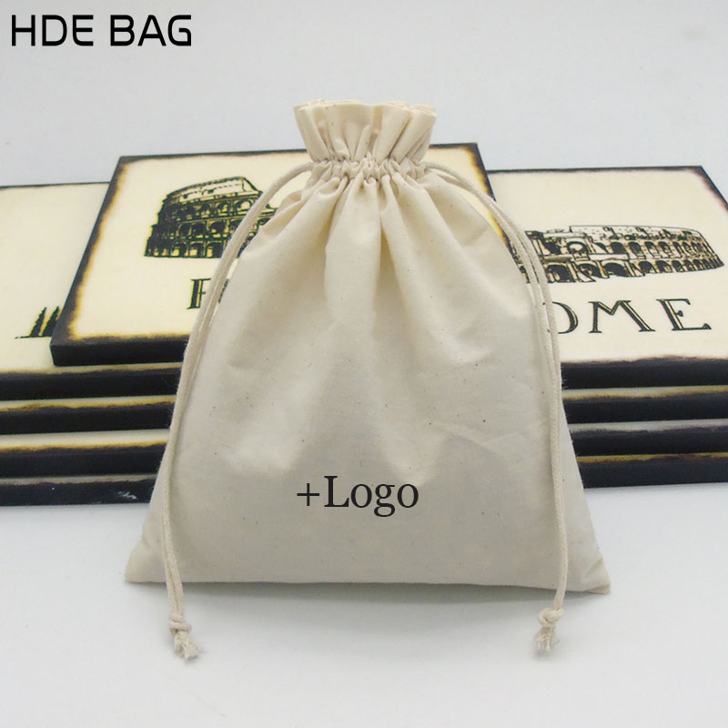 20x25cm Party Favors Baby Shower Gift Bag Custom Logo Wedding Decoration Packaging Bags Jewelry Organizer Make up Bag 50pcs/lot