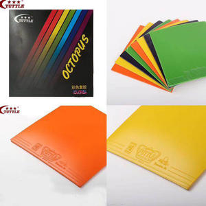 Image 1 - ITTF Tuttle OCTOPUS Colorful Table Tennis rubber, ping pong rubber Germany Tension Sponge