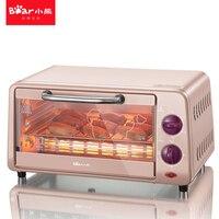 Медведь Многофункциональный высокое качество электрическая духовка конвекционной печи коптильня мини печь dkx a09a1