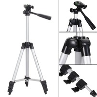 szKosTon Universal Tripod with 4 Sections Lightweight Hot sale Portable Tripod For Gopro Fuji Canon Sony Nikon Camera With Bag