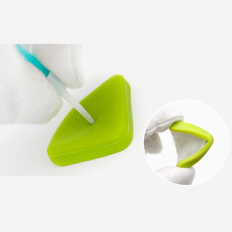 4 шт детский безопасный уголок силиконовый защитный уголок для детей Детская мебель угловые протекторы стол край защита безопасности