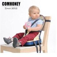 מושב תינוק האכלה כיסא גבוה כיסא תינוק נייד מושב הגבהה Highchair לפעוטות תינוקות רב תכליתי שקית מומי חיתול