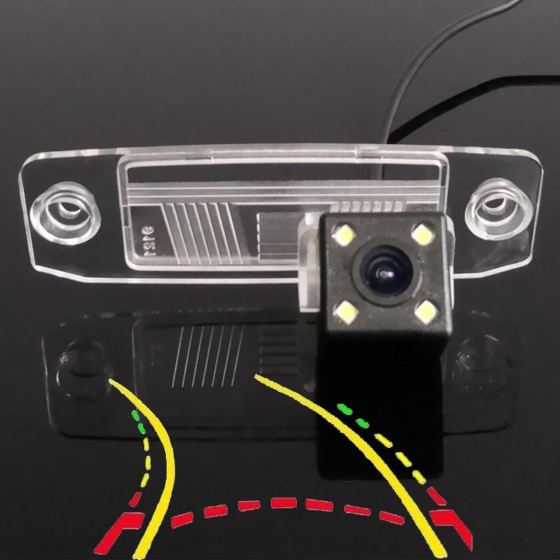 Intelligent Dynamic Trajectory Tracks Car Rear Camera For Kia Oprius K3 Forte Ceed Rondo Cerato Carens Borrego Sorento Sportage