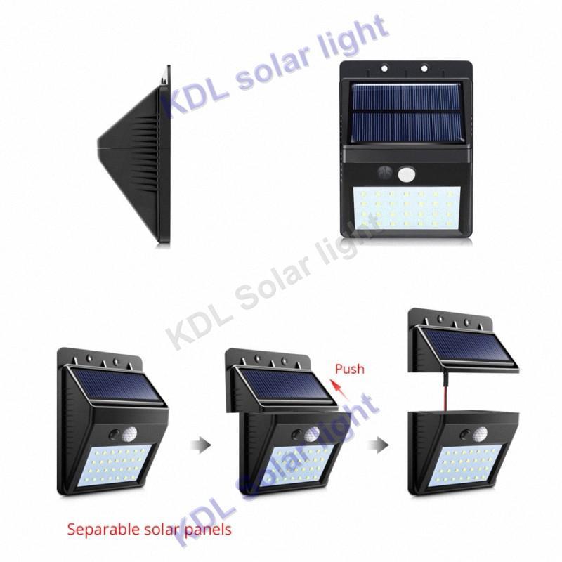 3 шт./лот обновление 30 светодиодов 500lm Солнечный свет Сплит гору pIR motion 3 senser vs38/48/28/10/55/20 светодиодных ламп smart ip65 6 IP ne