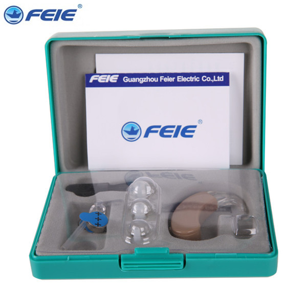 FEIE Wearable Electronic Device Ear Amplifier Cheap Hearing Aid Costs S-9C Drop Shipping