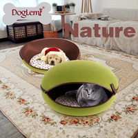 Pet Egg House Heated Cat Bed Cute Handmade Cat Cave Bed Kennel Beds 3 Colors Available