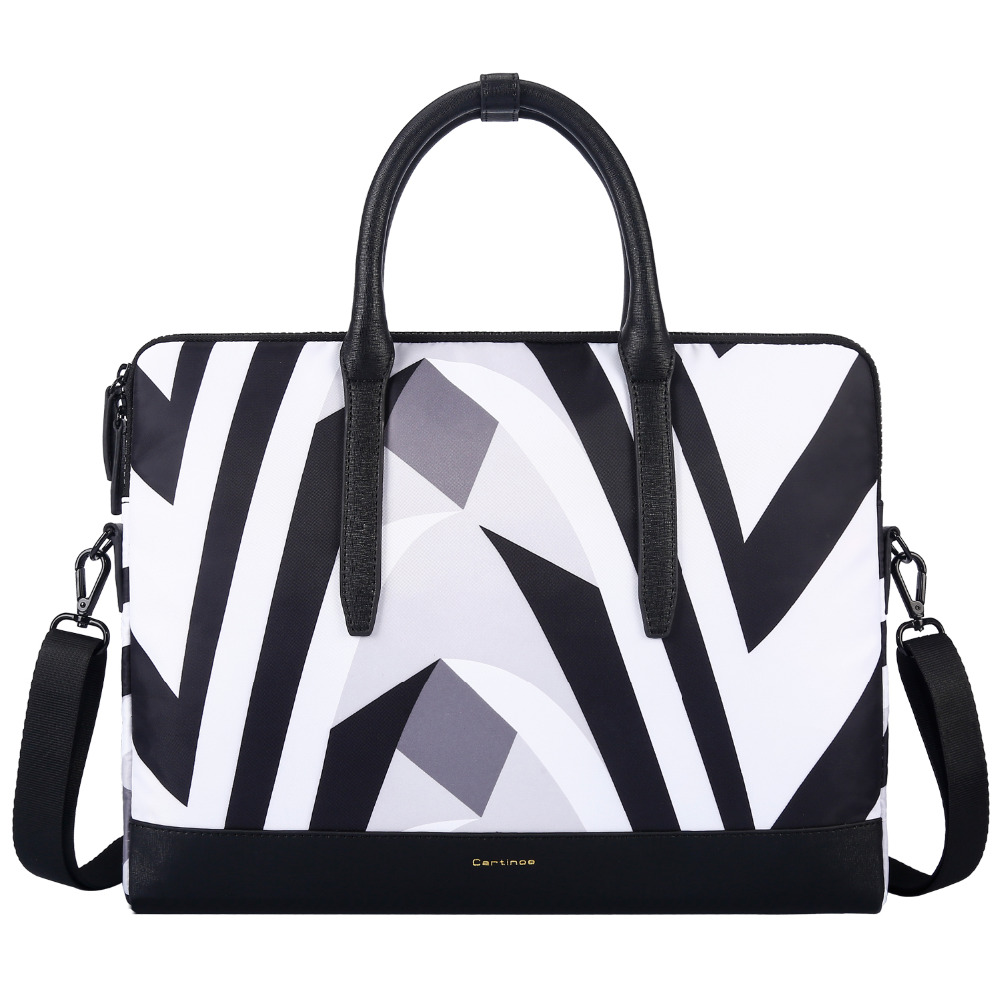 Women Laptop Tote Bag Notebook Shoulder Bag Lightweight Business Work Office Briefcase for Macbook Touchbar Pro 13 13.3 Inch Bag