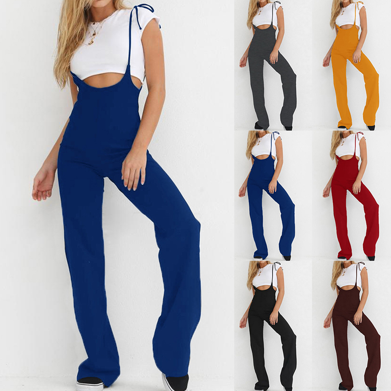NIBESSER Summer 2018 Woman High Waist Black Harem Sweat Loose Pants Women Fashion Solid Overalls Casual Lace Up Trouser