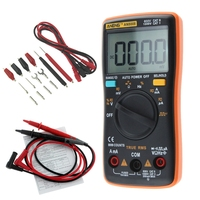 AN8008 multimeter cable analog multimeter test leads true rms digital tester esr meter transistor test