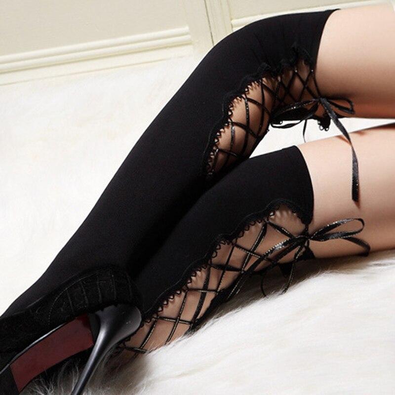 Sexy Women Thigh Bands Lace Anti Friction Leg Warmers Safe Shorts Slim Herstyleshop