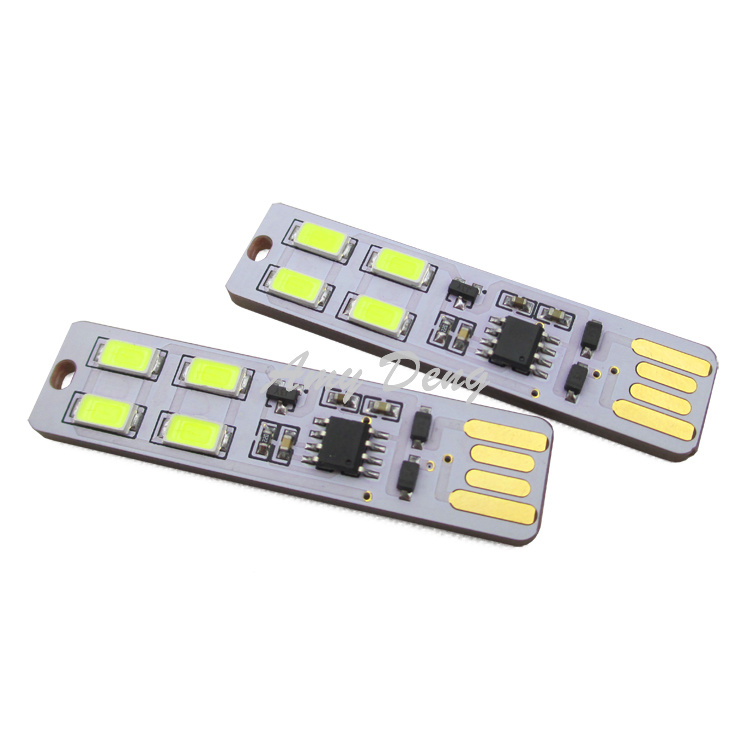 5pcs/lot  The mini USB  four LEDs