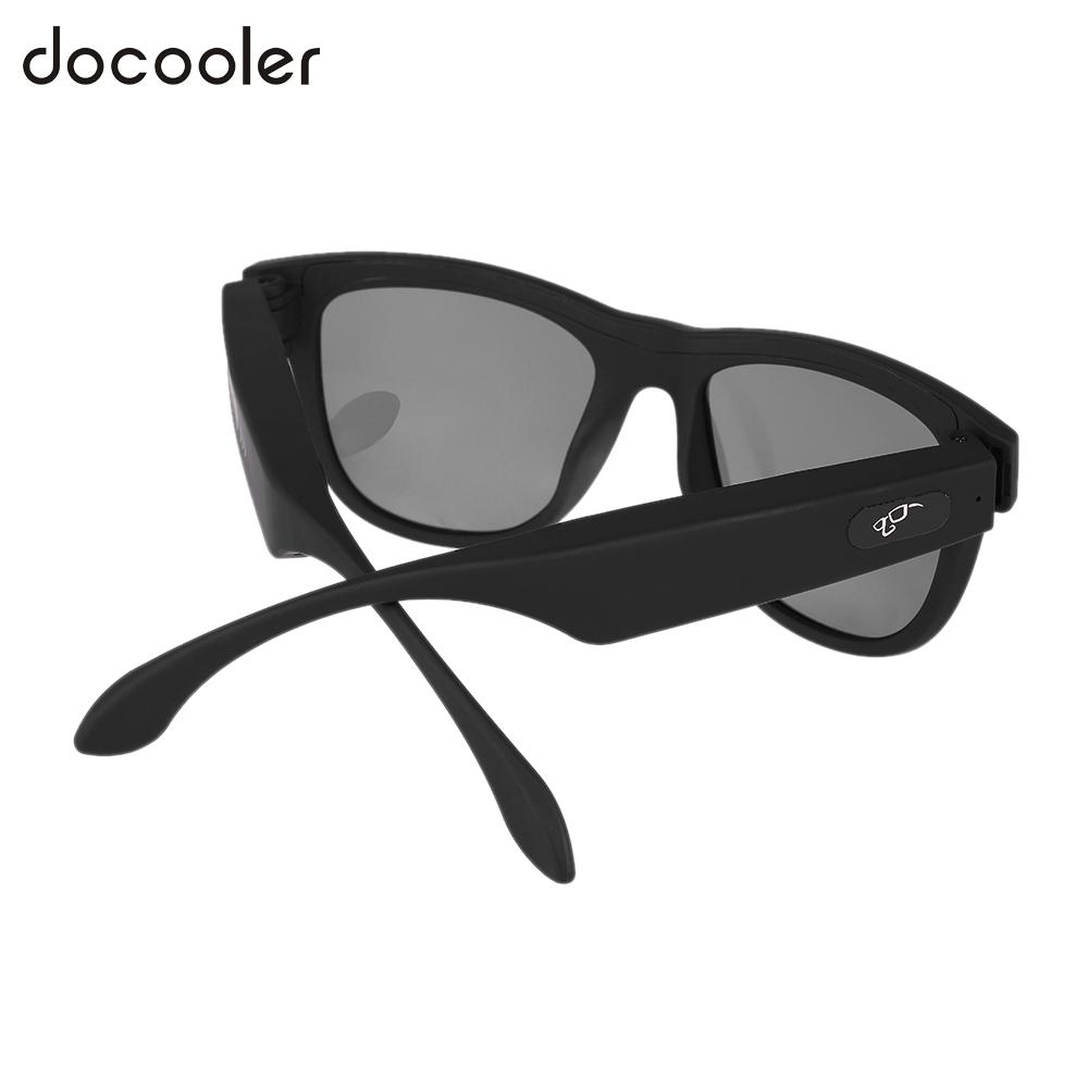 G1 Polarized Glasses Sunglasses Bluetooth Bone Conduction Headset SmartTouch Stereo Earphones Wireless Headphones w/ Microphone tg1 toptronics new technology product bone conduction glasses wireless bluetooth smart control music sunglasses three colors
