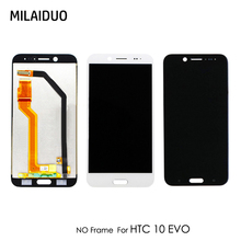 цена на LCD Display For HTC 10 EVO LCD Bolt M10H Touch Screen Glass Digitizer No Frame Assembly Replacement Parts 5.5'' White Black