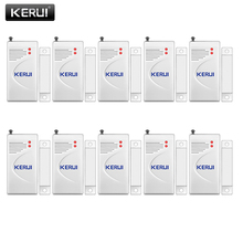 KERUI 10pcs/lot Wireless Door Window Sensor 433MHz Security Smart Gap Sensor Door Alarm Detector for Home Security Alarm System