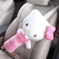 CNIKESIN Car Seat Belts Safety Universal Kids Seat Belts Shoulder Pad Cover For Children Super Soft