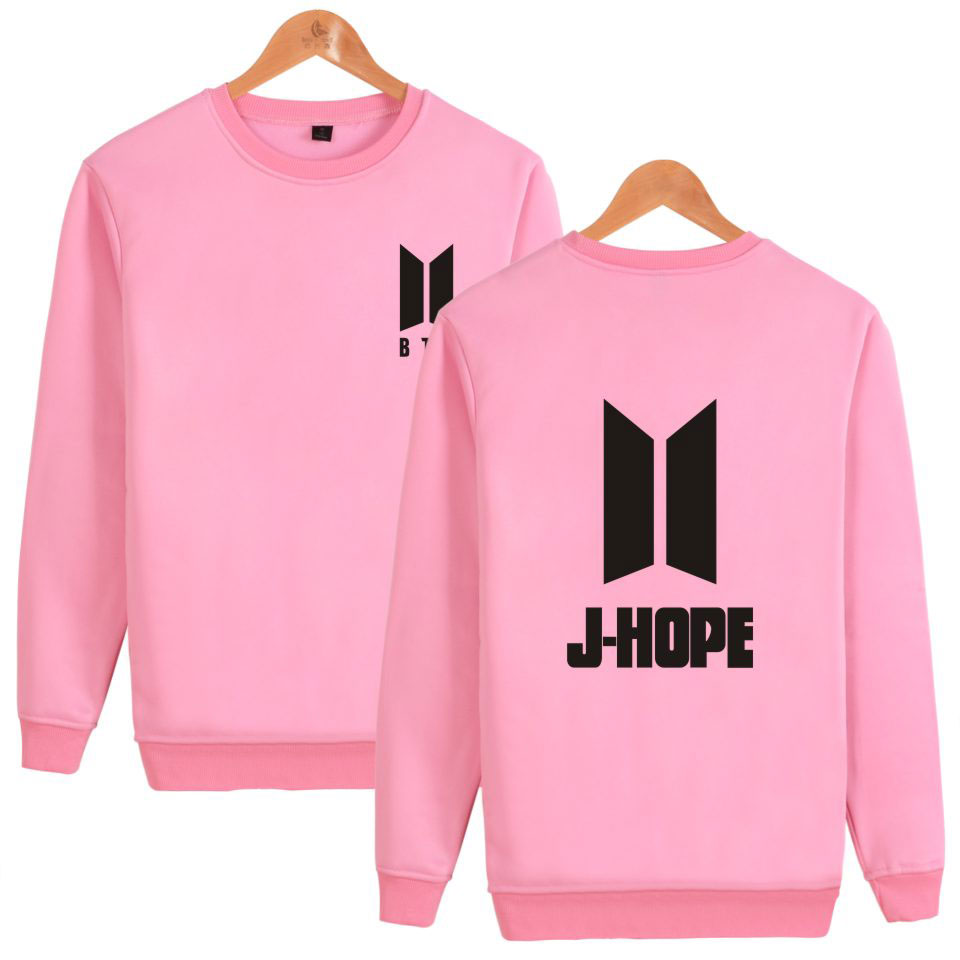 BTS K-pop Capless Harajuku Hoodies Women Popular Bangtan Boys Hip Hop Sweatshirt Women Long Sleeve Korea Kpop Fans Female Clothe