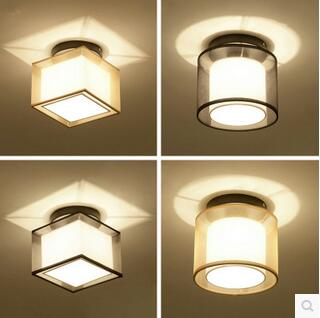 New Chinese LED round ceiling light modern simple aisle balcony entrance hall door bedroom corridor small lamps TA10193 crystal pendant lights aisle lighting small lamps lights modern ceiling balcony lamp led lamps small entrance hall