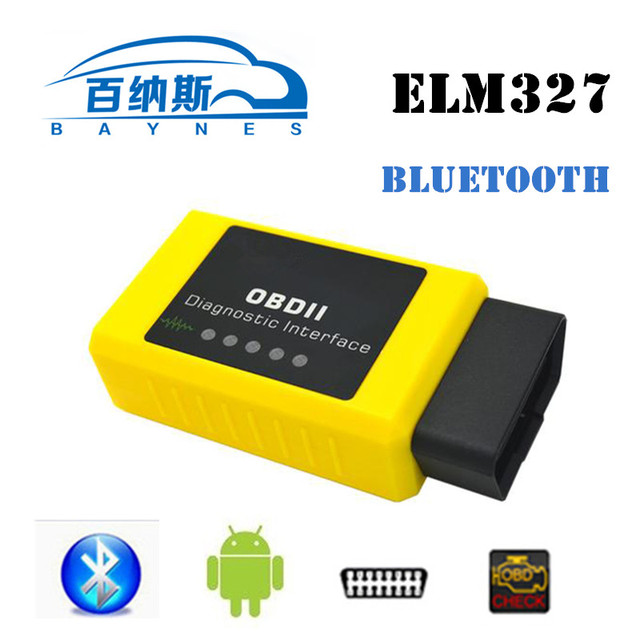OBD2 ELM327 Car Diagnostic Tool Auto Code Reader Scanner Tool  Bluetooth  ELM 327 Viecar VC003-A Work For Android VC003-A