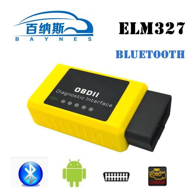 OBD2 ELM327 Автомобиля Диагностический Инструмент Auto Code Reader Сканер Инструмент Bluetooth ELM 327 Viecar VC003-A Работа Для Android VC003-A