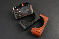 [VR] Handmade Genuine Leather Camera case For Leica M240 MP240 MM246 MD262 MM MD Half Body Camera Bag
