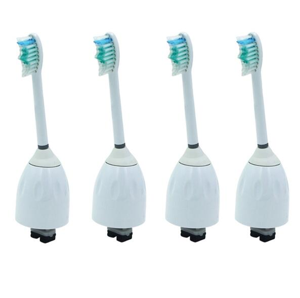 4 PCS Replacement Toothbrush Heads For Philips Sonicare E-Series Essence HX7022 HX7001 Brush Heads Oral Hygiene