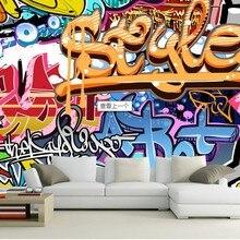 3d wallpaper custom mural non-woven Dazzle colour rock graff