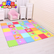 Cartoon Animal Pattern Carpet EVA Foam Puzzle Mats Kids Floor Puzzles Play Mat For Children Baby