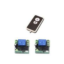 Hot Sales DC 12V Mini Wireless Remote Control Switch 1Channa