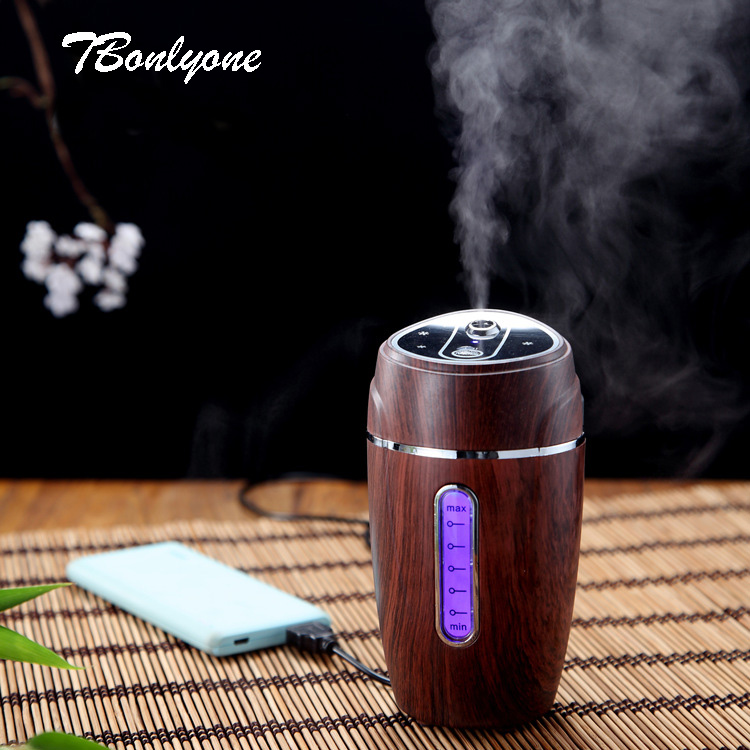 TBonlyone 180ML Vehicle Car Humidifier Essential Oil Diffuser Auto Shut off Humidifier Air Aroma Diffuser Humidifier for Home