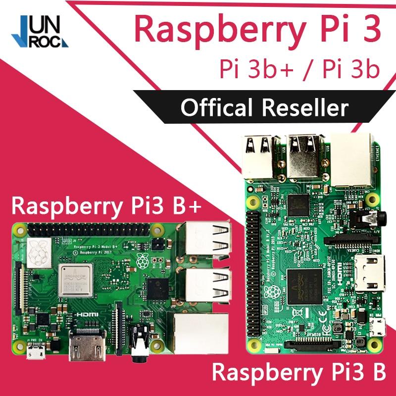 Original Element14 3 Raspberry Pi Modelo B/B + Plus BCM2837 1.2g 3 raspberry pi com 2.4g & 5g WI-FI Bluetooth 4.2 e PoE