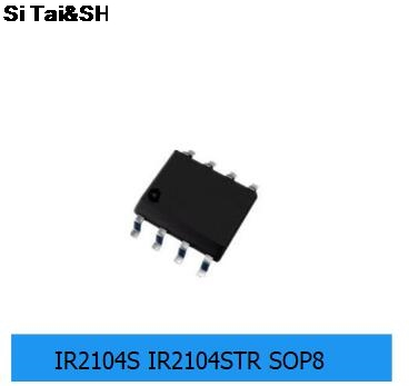 10PCS IR2104SPBF <font><b>IR2104S</b></font> MOSFET/IGBT driver SOP8 Package new original IC image