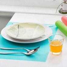 4 шт легко Очищаемый Антибактериальный коврик для шкафа анти-масло анти-Мороз коврик для холодильника может отрезать