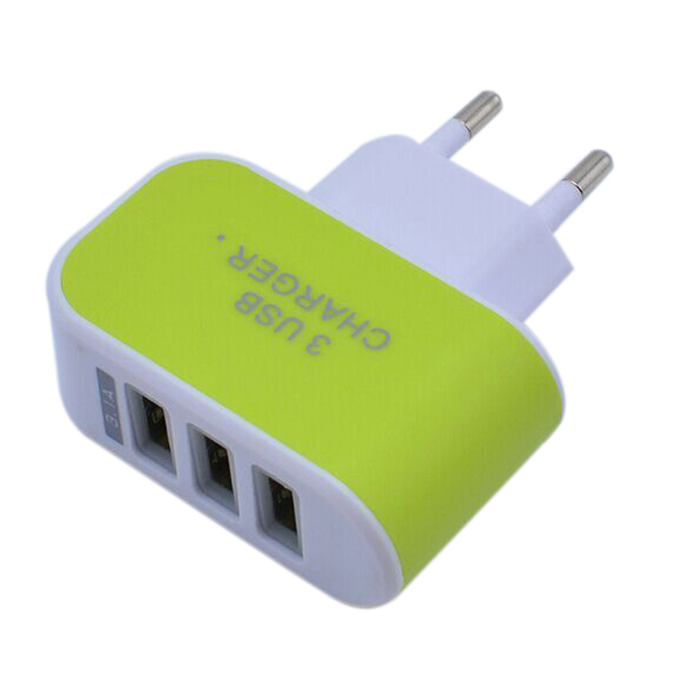 Hot Sale Us Eu 5v 31a Triple Usb Port Wall Home Travel Ac Charger Mobil Car Saver For Tablet Smartphone Aeproductgetsubject